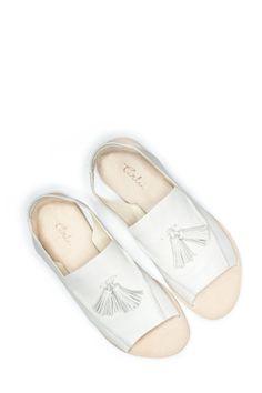 Style - Minimal + Classic: TERHI PÖLKKI, Loafer Sandal, White | Mr. Larkin www.mrlarkin.net