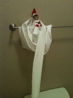 Elf On The Shelf Ideas by Aja