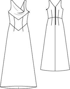burda style 03/2012  Kleid 104