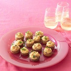 """Mouth-Watering Stuffed Mushrooms I """"The best I have ever had and people at Easter Dinner wanted the recipe--including guys! I doubled the recipe and they practically weren't enough because they were sooo good!"""""""