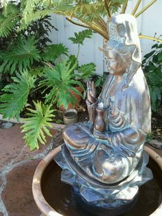 Kwan Yin healing fountain.