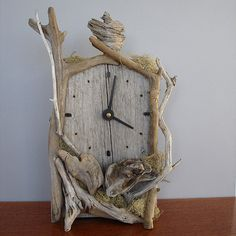 Driftwod Clock, Vincent Richel.