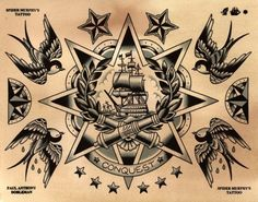 flash tattoo sailor jerry panther - Google Search