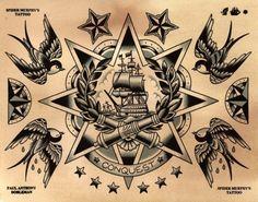 Traditional Tattoo Flash