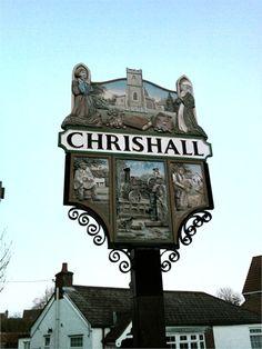 Chrishall village sign