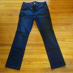 LC dark wash jeans Lauren Conrad dark wash straight leg jeans LC Lauren Conrad Jeans Straight Leg