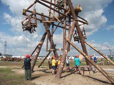 wooden ferris wheel. world scout jamboree 2011 Wow!!!