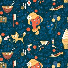 Favorite Things NOBROW Wrapping Paper by Lab Partners