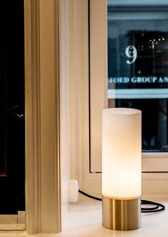Chairman table lamp | Rubn by niclas hoflin // acryl and brass