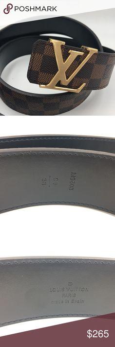 1943d6d2a0b2 Louis Vuitton LV Initials Belt Men s 38 90 38mm width (1.5