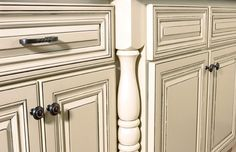 how do i paint kitchen cabinets distressed with black accent - Yahoo Search…