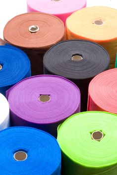 Smart-Fab - a unique non-woven fabric that is colorful, durable & easy to work with!