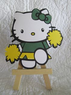 Hello Kitty Shaped Card #cricut