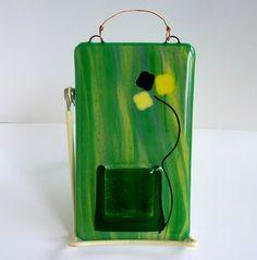 Glass Wall Pocket Vase by bprdesigns on Etsy, $18.00
