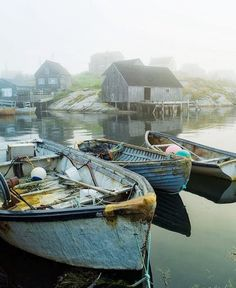 Peggy's Cove in Nova Scotia, Atlantic Provinces, Canada © Adam Gibbs O Canada, Canada Travel, Nova Scotia, Ontario, Voyager Loin, Atlantic Canada, Old Boats, Cottages By The Sea, Remo