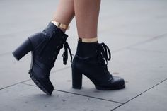 ankle cuffs & collar tips,Chicwishboots