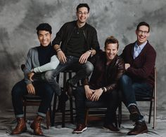 Eugene Lee Yang, Philip Defranco, Buzzfeed, Try Guys, Paramount Theater, Grown Man, The Fault In Our Stars, Looking Forward To Seeing, Michelle Obama