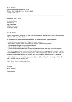 Cover Letter For Office Clerk Cover Letter Resume Examples Templates Resume Cover Letter .