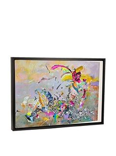 Larisa Ilieva Abstract Afternoon Canvas Print