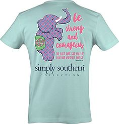 156aa7a859fd Simply Southern Womens Preppy Strong Celedon M     Find out more about the  great