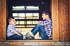 brothers looking at each other, denver colorado, children's photography, outdoor photo shoot