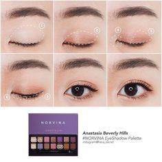 Korean Makeup Look, Asian Eye Makeup, Smokey Eye Makeup, Makeup Trends, Makeup Inspo, Makeup Tips, Beauty Makeup, Cute Makeup, Makeup Looks