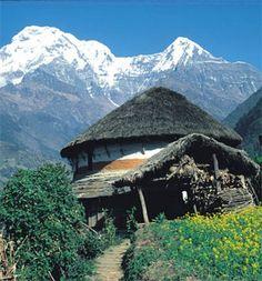 Trekking Nepal! Tanahun district. Kijk voor meer reisinspiratie op www.nativetravel.nl