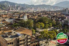 Panoramica del parque principal de Itagüí