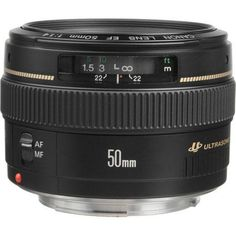Canon EF 50mm f/1.4 USM Lens, Gray Market 2515A003