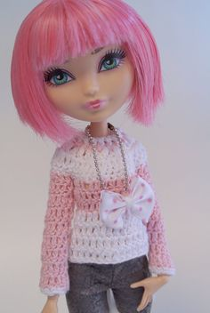 Crochet Jersey for Monster High and Ever After High  by Morpalier