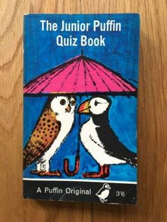The Junior Puffin Quiz Book - Dixon, Norman and Margaret  Puffin, First impression of this Puffin paperback edition from 1966, in near fine condition, please see pics, PayPal accepted, any questions please get in touch.