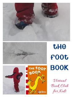 The Foot Book Activities for kids