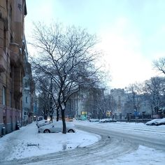Helló hó!  #snow #city #winter #budapest #hungary #street #morning #mik #hó Budapest Hungary, Snow, Street, City, Winter, Outdoor, Instagram, Winter Time, Outdoors