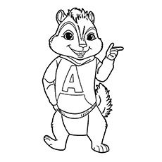 Top 25 Free Printable Alvin And The Chipmunks Coloring Pages Online Alvin And The Chipmunks Cartoon Coloring Pages Kitty Coloring