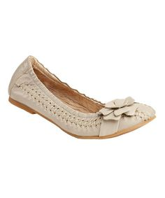 perfect for summer - Kickers Beige Keyty Flat