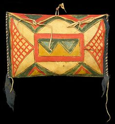 Sioux Parfleche #NativeAmerican #Art