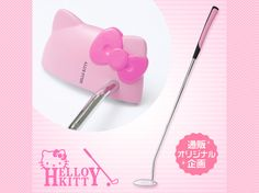 Hello Kitty Golf Putter 33″ with Original Head Cover SANRIO