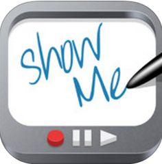 Det finns inte så mycket att säga om ShowMe förutom att det är avskalad och simpel inspelningsapp för att spela in lektionsfilmer.