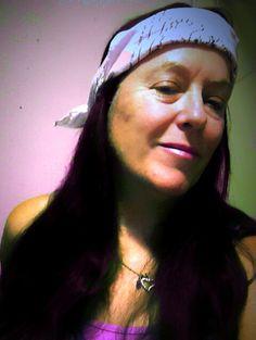 Me in pink bandana