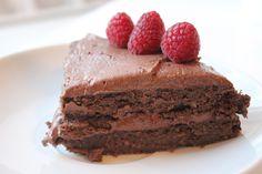 Brownie med hvite bønner. Must try!!Fitnessnora - Train hard or go home!