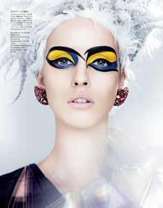 Vogue Japan January 2013  model: julia frauche  photographer: kenneth willardt  stylist: tina chai