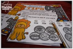 {Circus Cents} 10 Money Centers that meet all 2nd grade money standards & more!