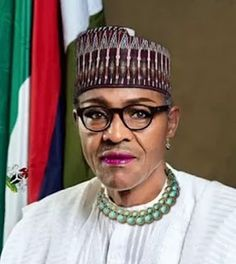 What!!! Picture Of President Buhari If He Was A Woman