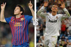 ¿Quién es tu delantero favorito entre Loinel Messi y Cristiano Ronaldo? ¿Quién es tu delantero favorito? #LionelMessi or #CristianoRonaldo - click the pic to VOTE! Cristiano Vs Messi, Messi Vs, Lionel Messi, Soccer, Mens Tops, T Shirt, Fashion, Champs, Sports