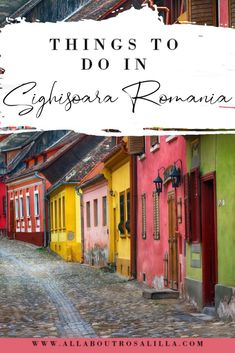 If you want to visit a place that is so magical it is just like stepping into a fairytale then you need to visit Sighisoara, Romania. A place that is so colourful it is like a crayon box exploded all over it and a place where legends began. In this guide on Sighisoara I want to give you a list of things to do in Sighisoara. | Sighisoara | Transylvania | Romania | Best cities to visit in Romania | European Medieval Cities | Things to do in Sighisoara | Medieval Sighisoara | #romania… Travel Around Europe, Europe Travel Guide, Backpacking Europe, Europe Destinations, France Travel, Germany Travel, Travel Around The World, European Travel Tips, Romania Travel