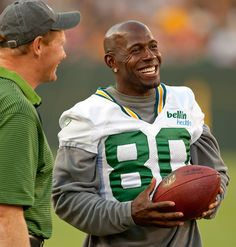 I love Donald Driver because he is an excellent person, can dance, and supports the Good Will mission...which is the best place to shop, ever.