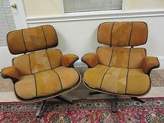 Vintage Patchwork Charles Eames Chairs #followitfindit