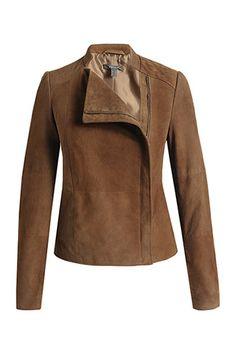 soft suede jacket