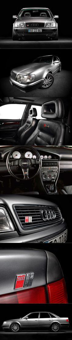 1990 Audi S4 / Ur-S4 / 227hp 2.2l 20V L5 / silver / Germany / photography: Pedro Mota