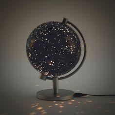 5 in. Illuminated Stars & Constellation Globe at Hayneedle